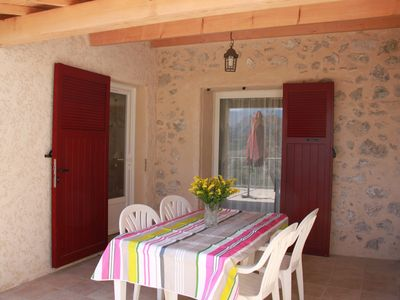 Photo for Spacious, sunny house, terrace and garden, countryside views, quiet