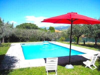 Photo for Nice- Beautiful Villa - Close to the sea and downtown - Pool - Garden