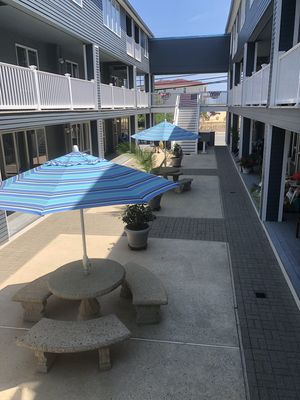 Photo for Beach one block away/2 Bedroom Townhouse