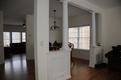 Never feel cramped for space in this open floor plan