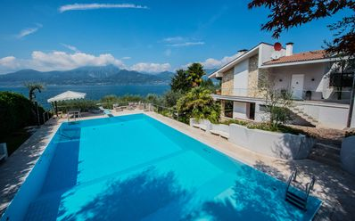 Photo for Beautiful villa with stunning lake view