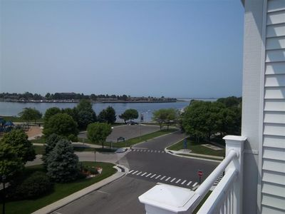 Photo for Park Place Condo at the Harbor with Spectacular Views of the Lake.