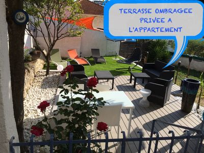 Photo for ANTIBES APARTMENT 4 STARS CLIMATE 2 ROOMS TERRACE / GARDEN / PARKING