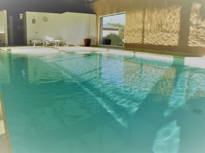 Photo for BEAUTIFUL HOUSE AT 100 METERS FROM THE BEACH WITH SWIMMING POOL Shared - 8 people
