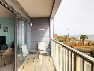 Photo for Oceanfront condo w/ spectacular views, shared pool, & sports courts