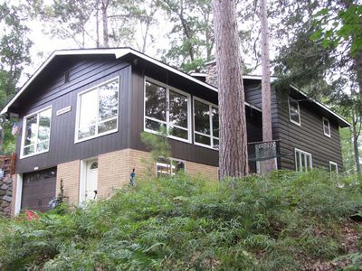Photo for 5 Bed/3 Bath Boulder Junction Lodge on a quiet bay on Boulder Lake.