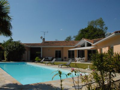 Photo for Villa Comtemporaine 170 M2 13x4,5 POOL - Near Ocean - 5 bedrooms