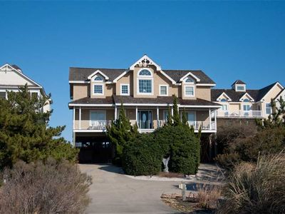 Photo for Seaside 22: Pet friendly, oceanfront, 7 bedroom, pool, hot tub and gazebo.