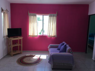 Photo for Short or Long term rental in Puerto Morelos: Cozy house well linked to beach.A/C+ WiFi