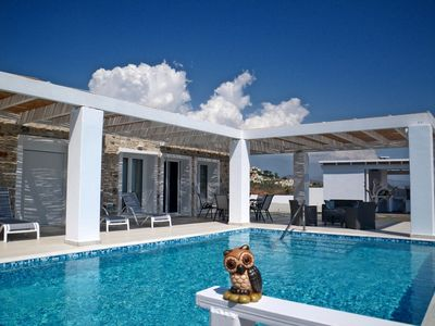 Photo for Cinzia Villa with panoramic views close to Lindos