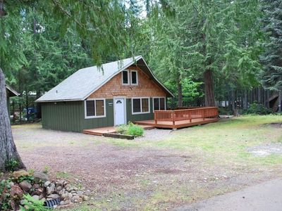 Photo for Lake Cushman Cabin with Private Access to Lake & Park