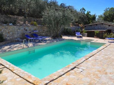 Photo for Holiday home in a farmhouse with private swimming pool, panoramic location