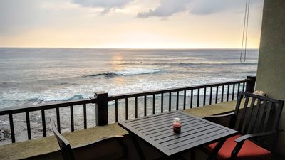 Photo for Romantic Penthouse Oceanfront Condo with AC and Fabulous Views