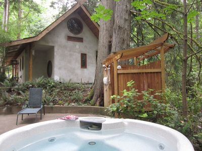 Photo for Japanese style Forest House set on 6 acres offers beauty, privacy and hot tub