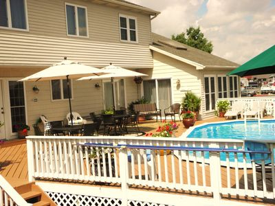Photo for PRIVATE POOL, LUXURY  HOME - Pet friendly .