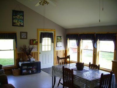 Photo for Cozy, rustic cabin with beautiful views, privacy and 1 mile from Keuka Lake