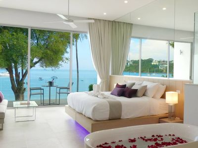 Photo for 10 BR Villa on Phuket's most exclusive beachfront