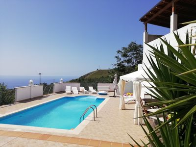 Photo for Villa with pool sea view