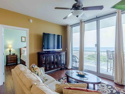 Photo for Beautiful Emerald Dolphin Condo w/ Beach Views ~ Private Balcony ~ Community Pool