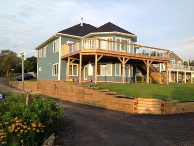 Photo for Beach Front Home Over Looking Beautiful Chance Harbour Beach