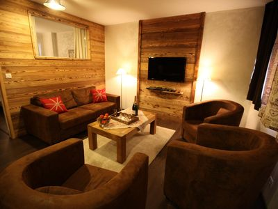 Photo for 4 rooms 8 people 3 clés west facing