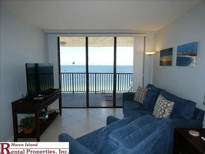 Photo for Sea Winds 1105: An amazing view from this Beachfront Condo! 2 Bed, 2 Full Bathrooms