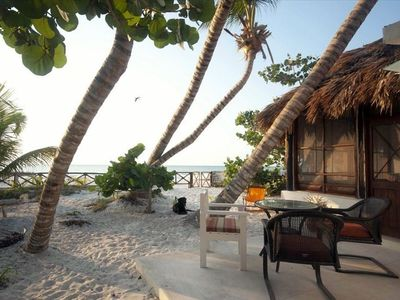Photo for Los Cocos Holbox - Charming Cabana on the Beach