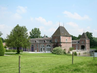 Photo for Holiday home for 10 people set in castle grounds dating back to the 18th century
