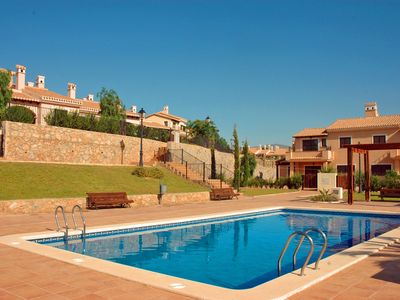 Photo for Lovely 3 bed villa with community pool - BBQ