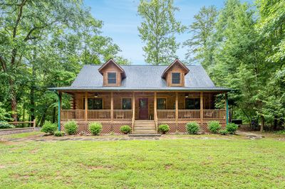 Exterior - Welcome to Lake Lure! This comfortable cabin is professionally managed by TurnKey TurnKey Vacation Rentals.