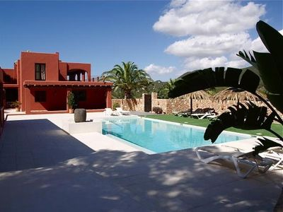 Photo for 6 bedroom Villa, sleeps 10 in Cala Vadella with Pool, Air Con and WiFi