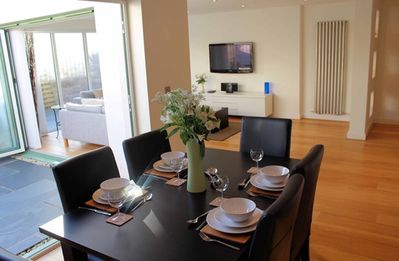 2 POINT VIEW Open Plan Living/Dining Area  with Bi-folding Doors