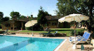 Photo for 3 houses - perfect for a group - Tuscany at its best