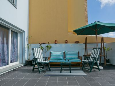 Photo for Casa Azul (Big terrace) - Ideal for families - Apartment for 4 people in Ericeira