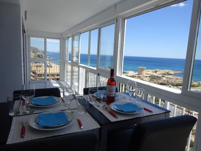 Photo for 90 M2 entirely renovated flat facing harbor, near beach, wifi