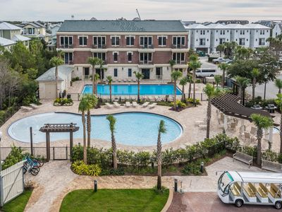 Photo for Sun ☀️ is shining! Luxury 3/2 With Balcony on 30a! Steps to Rosemary and Beach