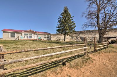 Explore the lovely south-central region of Utah from this serene, Boulder home.