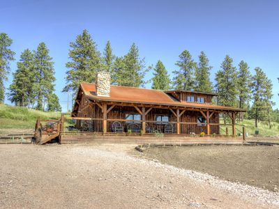 Photo for Beautiful Timber Frame Canyon with Spring Creek Canyon Views!