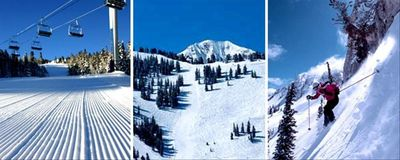 Solitude Mountain Resort offers skiing and snowboarding for every ability