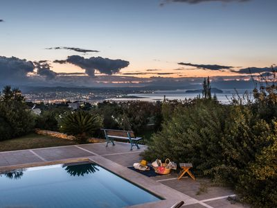 Photo for Villa Mariposa-Luxury & Sunny with Private Pool/Panoramic Sea & City View