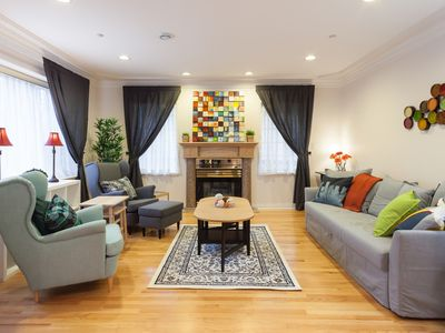Photo for 7 br+, 5ba: Spacious Retreat by Beach & Downtown