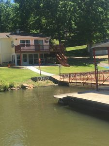 Photo for Right on the Water w/ Own Dock, Pet Friendly Flat Lot, Wheel Chair accessible!