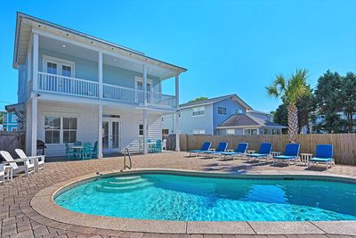 Destin 2 Stay - Private Pool w/ Lounge Chairs and Grill