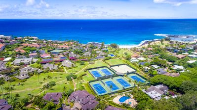 Photo for Beautiful 6 br for 14 Poipu Kai villa just 250 yards to Brenneckes Beach!