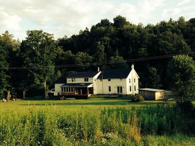 Photo for Beautiful updated quinesential Vermont Farmhouse minutes to the Mountain