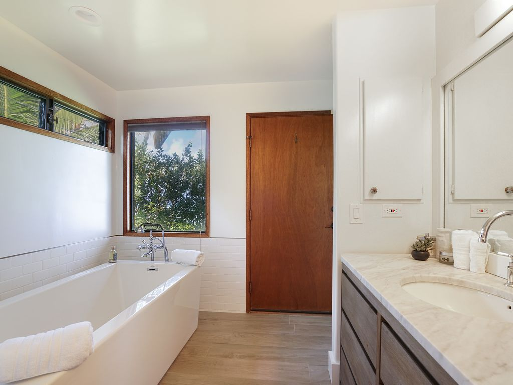 contemporary hawaii living on calm north shore beach $8500 for a 2