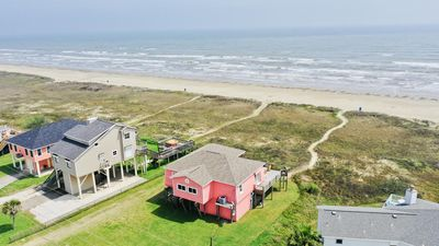 Photo for Beachfront Home and Hot Tub with fantastic views!!