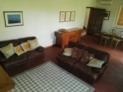 Photo for Comfortable and quiet recently renovated house 800m from the sea