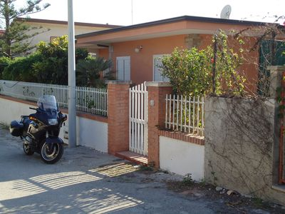 Photo for Spacious house 200 meters from the sea, 100 sqm, 3 bedrooms, 2 bathrooms