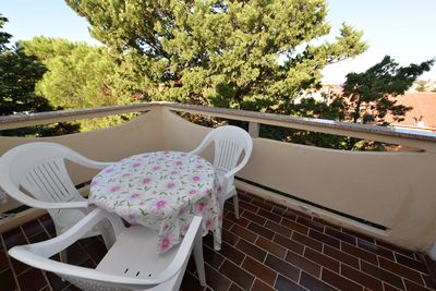 Balcony - apartment No. 1 for 3 people